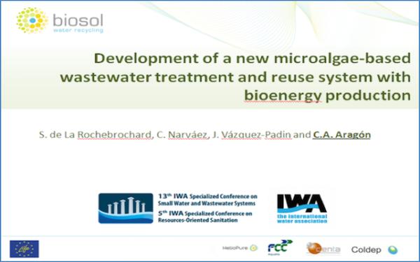 BioSolWaRe-LIFE project at the IWA SWWS 2016