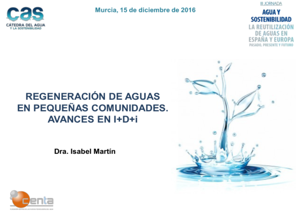 The water reuse in Spain and Europe, past, present and future