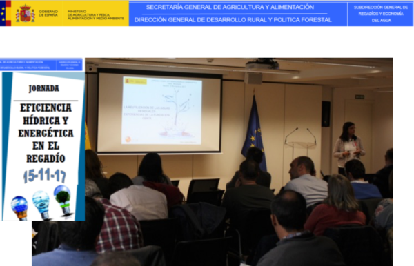 BioSolWaRe project presented at the Conference on WATER AND ENERGY EFFICIENCY IN IRRIGATION